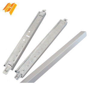 T32*15 Narrow Flat Plain White Ceiling T Bar (0.23-0.35mm) pictures & photos