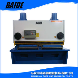 QC11y CNC Control System Steel Plate Guillotine Shear Cutting Machine