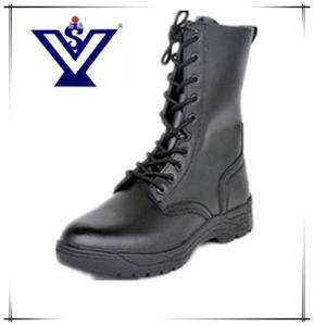 Top Grade Army Boots Genuine Leather Boots (SYSG-003) pictures & photos