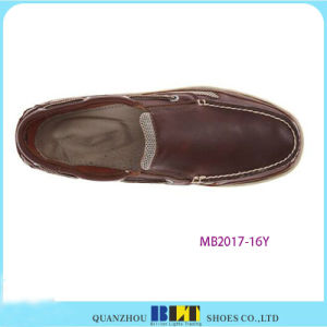 New Design Waterproof Leather Boat Shoes pictures & photos