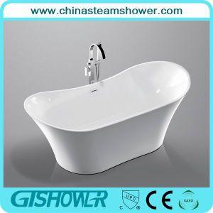 Cheap Acrylic Resin Oval Bath Tub (KF-722) pictures & photos