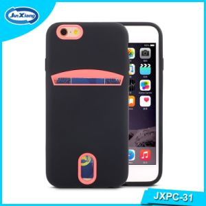 High Quality Card Slots Cell Phone Case for iPhone 6 pictures & photos