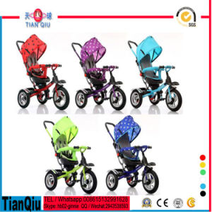 2016 New! High Quality Multifunction Kids Tricycle with Sunshade pictures & photos