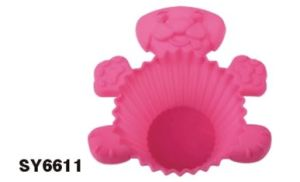 Silicone Mini Cake Cup & Cake Mould &Bakeware FDA/LFGB (SY6611) pictures & photos