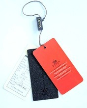 Fast Delivery Paper Swing Hang Tag for Clothes
