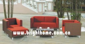 New Design Wicker Rattan Sofa Set Outdoor Furniture Bp-828 pictures & photos