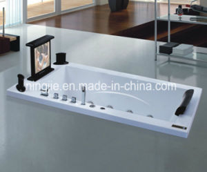 Ningjie One Person Approved Sanitary Ware Massage Bathtub (NJ-3059) pictures & photos