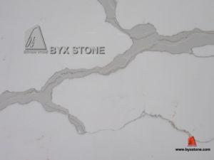 Calacatta White Marble Artificial Quartz / Manmade Quartz pictures & photos