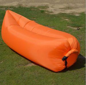 Quick Lamzac Lazy Sleeping Hangout Outdoor Camping Beach Bed Sofa Lounge Air Mat Ultralight Fast Inflatable Kaisr Sleeping Bag