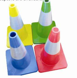 Colored PVC Road Cone Sign for Traffic and Industrial Use pictures & photos