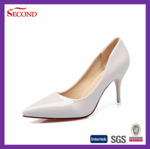 Black Color Pointed High Heels for Female pictures & photos
