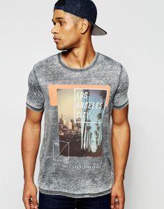 OEM Factory 100%Cotton Crew Neck Printed Men′s T Shirt pictures & photos