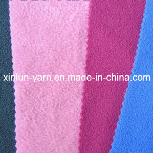 Polyester Material Knitted Technics Custom Solid Polar Fleece Fabric pictures & photos