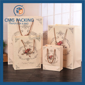 Carton Printed Matt Gift Paper Bag (CMG-MAY-057) pictures & photos