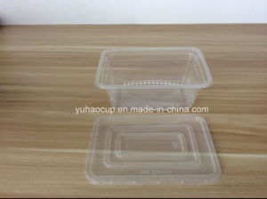 Microwave Safe Disposable Plastic Food Container 750ml pictures & photos