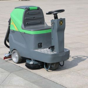 Factory Price Offer Floor Sweeper Machine Type Rider Scrubber (DQX6) pictures & photos