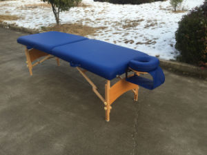 Portable Massage Table with Adjustable Headrest and Armsling Mt-006b pictures & photos