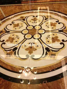 Marble Stone Polished & Waterjet Patterns Flooring Tiles pictures & photos