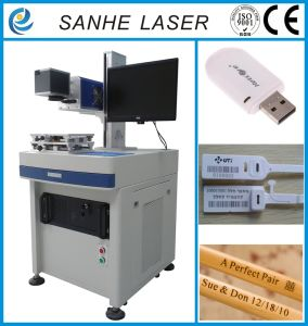 CO2 Laser Marking Machine Marke for Furniture and Glass pictures & photos