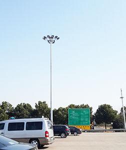High Mast Lighting Pole, 24 Meters Highmast Galvanized Light Pole pictures & photos