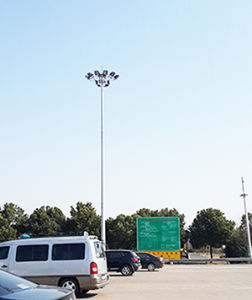High Mast Lighting Pole, 24 Meters Highmast Light Pole pictures & photos