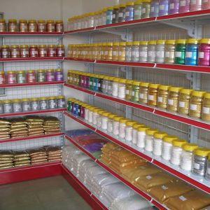 Wire Mesh Back Metal Steel Gondola Supermarket Display Shelf Rack pictures & photos