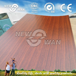 Cherry Double Face Malmine Paper Coated Chipboard / Particleboard pictures & photos