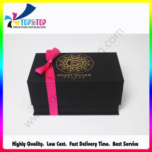 Handmade Luxury Jewelry Box with Lid Open pictures & photos