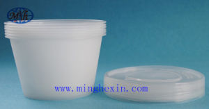 White Disposable Plastic Bowl with ISO SGS