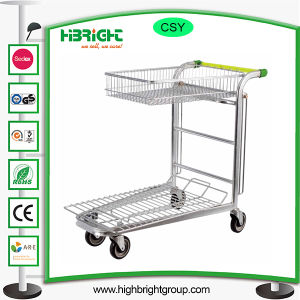 Stackable Heavy Duty Platform Hand Warehouse Cart pictures & photos