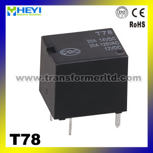 12VDC Car Relay T78 PCB Relay China Relay Manufacturer pictures & photos