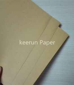 Kraft Liner Board Paper Liansheng Brand Yellow Leaves pictures & photos