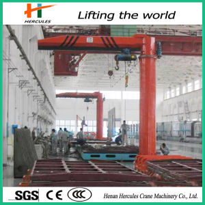 Hercules 3 Ton Hoist Column Swing Level Jib Crane Price pictures & photos