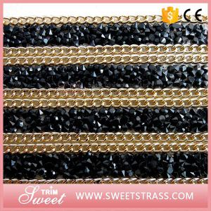 Fashion Accessory Design 24X40cm Rhinestone Glue Sheet pictures & photos