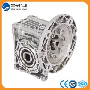Silver Oil-Proofing Worm Gear Reducer for Food Industry pictures & photos