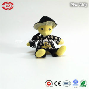 Yellow Man Figure Doll Plush Stuffed Sitting Fashion Toy pictures & photos