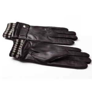Men′s Fashion Warm Leather Motorcycle Driving Sports Gloves (YKY5178-1) pictures & photos