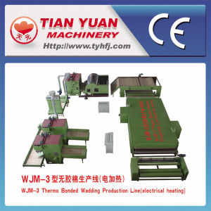 Thermal Bonded Polyester Fiber Machine Line pictures & photos