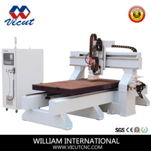 High Precision Table Move Atc CNC Router (VCT-2513ATC) pictures & photos