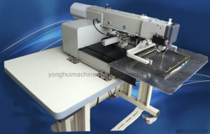 Computerized Pattern Embossing Shoe Upper Sewing Machine (ZH3020) pictures & photos