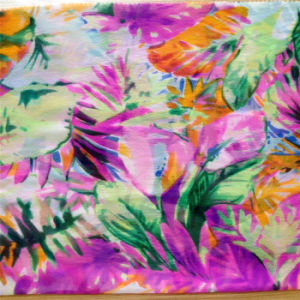 8m/M Silk Ggt Print in Flower Design pictures & photos