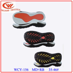 Non-Slip Fashion Various Styles Md+Rb Material Series Sandals Sole for Shoes Making pictures & photos