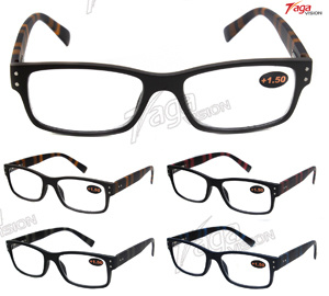 Classical Colorful Plastic Reading Eyewear