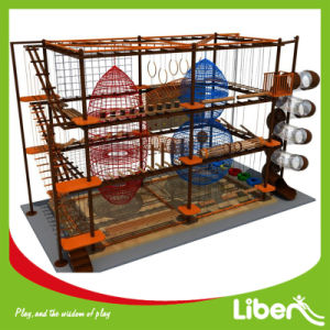 Indoor Playground Equipment Rope Course pictures & photos