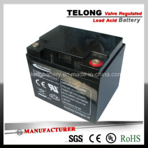 12V38ah Rechargeable Lead Acid Solar Battery pictures & photos