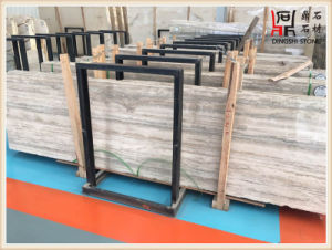Building Material Color High Quality Silver Grey Travertine Slabs for Wall Decoration