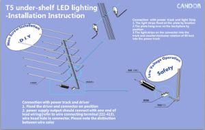 Candor LED Shelf Light pictures & photos