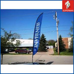 Outdoor Polyester Promotional Flying Beach Flag (SM050087)