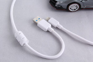 5V 2A PVC USB Cable for iPhone with Magnetic Ring pictures & photos