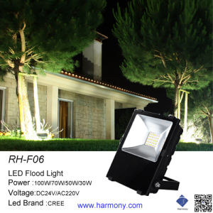 High Power Outdoor 50W Rgbaw China LED Flood Lighting pictures & photos